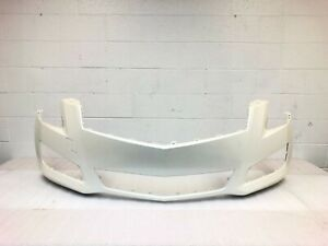 2013-2014 OEM cadillac ats (sedan only) front bumper cover (white diamond) #2