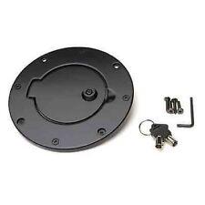 Rampage 85007 Locking Fuel Doors Black fits 07-12 JK - 2-DR &4-DR