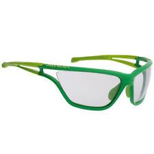 Occhiali e monolente da ciclismo con montatura in verde unisex adulto