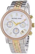 Michael Kors Women's MK5650 'Ritz' Chronograph Crystal Stainless steel Watch