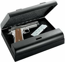 Gun Vault MV500-STD MicroVault Gun Safe with 20-Gauge Steel Exterior in Black