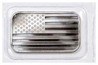 SilverTowne Mint American Flag Design Prooflike 1 oz Silver Bar SKU49133