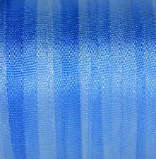 NASTRO di seta blu 7mm 100% puro-RICAMO MANO Tinto Morning Glory - 3 M