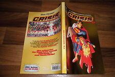 JLA Sonderband # 13 -- CRISIS on INFINITE EARTHS  # 2   Superman goldene Ausgabe