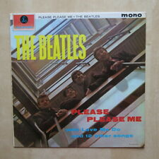 THE BEATLES Please Please Me UK mono 5th press Yellow & black Parlophone Ex