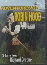 Adventures of Robin Hood 3 Episodes DVD Starring Richard Greene Slim Case