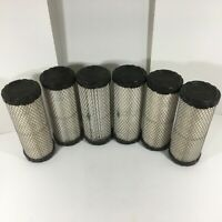 Luber-Finer LAF8195 Heavy Duty Air Filters Set of 6