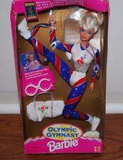 VINTAGE BLONDE OLYMPIC GYMNAST BARBIE 1996 ATLANTA OLYMPICS GAMES DOLL DOLLS