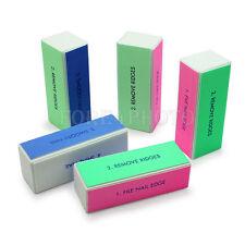 Manicur Buffer Block Nail File Polishing Practical Tools Grinding Block 5 Piece