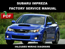SUBARU 2014 IMPREZA WRX STI ULTIMATE OEM FACTORY SERVICE REPAIR FSM MANUAL