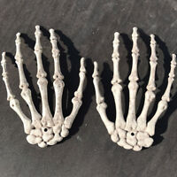 Halloween Skull Skeleton Human Hands Bone Zombie Party Terrors Adult Scary Props