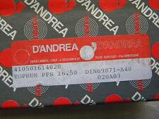 D`Andrea Kombidorn, Messerkopf-Aufnahme,Toprun,  SK 40 DIN 69871 A40 PFS16.50