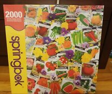 """Springbok """"Packets of Promise """" Puzzle 2000 pieces; brand new/unopened condition"""