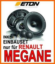 RENAULT MEGANE 1 ETON 16cm 2-WEGE LAUTSPRECHER BOXEN FRONT-SYSTEM TÜR VORNE NEU