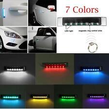 Wireless Car Solar LED Warning Flashing Light Width Lights Singnal Blinker S2
