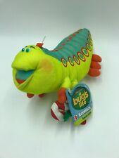 """A Bugs Life 13"""" Plush Christmas Heimlich Caterpillar Stuffed Disney Mattel R"""