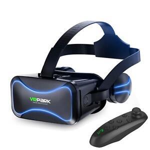 VR Brille Headset Virtuelle Realität Brille 3D Bluehooth 3.0 Mit Game Controller