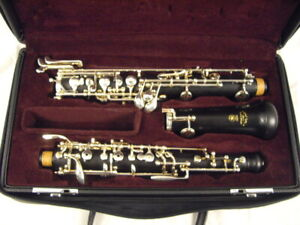 Yamaha Oboe Student Model YOB-211 Excellent Condition! Professionally Adjusted