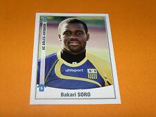 13 BAKARI SORO ACA ARLES AVIGNON PANINI FOOT 2011 FOOTBALL 2010-2011