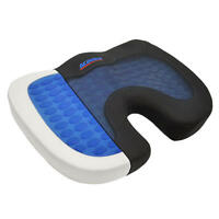 ACDelco Orthopedic Cooling Gel Therapy Coccyx Seat Cushion Memory Foam Back