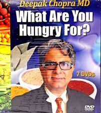 NEW! Deepak Chopra MD What Are You Hungry For 7 DVD SET