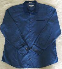 Mens CK Calvin Klein Slim Fit Long Sleeve Button Down Cotton Shirt XL