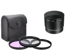 58mm Lens Filter Set (CPL FLD UV) for Canon PowerShot G12/ G11/ G10