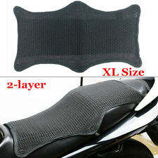Motorcycle Seat Cover Net Insulation Sleeve 2-layer Non-slip Protector Cushion