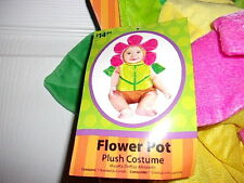NEW WITH TAG FLOWER IN POT HALLOWEEN PLAY COSTUME  SIZE 9 - 18 MONTHS  2 PC SET