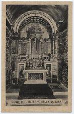 cartolina LORETO interno della ss.casa