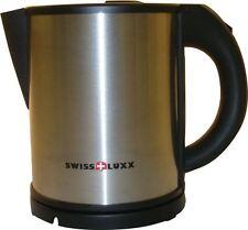 Swiss Luxx 1 Litre Stainless Kettle Low Wattage Caravan Motorhome 220-240v 600w