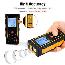 100m Super Mini Digital LCD Laser Distance Meter Range Finder Measure Tape Tool