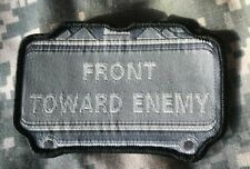 VELCRO® BRAND Hook Fastener Compatible Front Towards Enemy ACU Patches 3.5""