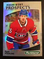 Ryan Poehling 2019-20 Upper Deck Parkhurst Prominent Prospects #PP-5 Canadiens