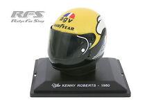 Kenny roberts-Casque AGV tête casquée-moto coupe du monde 500 cm³ 1980 - 1:5 Al 1980-kr-h33