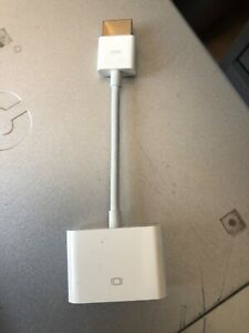 Apple HDMI to DVI Adapter style connector
