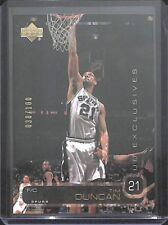 2002-03 Upper Deck UD Exclusives Gold #21 Tim Duncan No 38 of 100