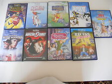 WALT DISNEY DVD MIXED CHILDRENS COLLECTION LOT