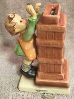 "Goebel Hummel Figurine TMK7 118 ""Little Thrifty"" with Key 5"""