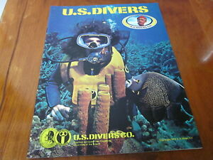 scuba vintage 1978 US Divers catalog