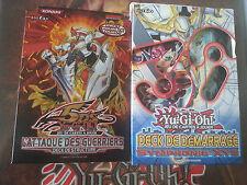 Cartes Yu-Gi-Oh! Françaises Decks L'Attaque des Guerriers + Symphonie XYZ