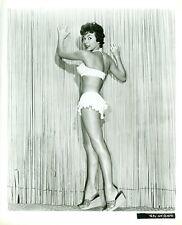 RITA MORENO LEGGY BIKINI BUSTY CHEESECAKE PLATFORM SHOES 1955 MGM MOVIE PHOTO