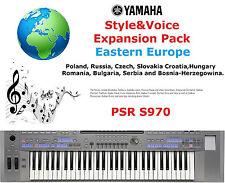 YAMAHA PSR S970 Europe de l'est Expansion Pack
