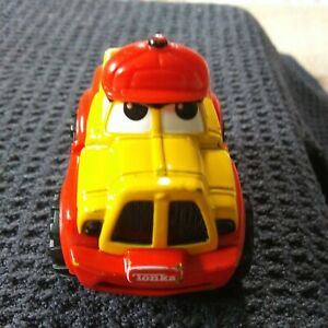 2000 Maisto Tonka Lil Chuck Die Cast Truck Red and Yellow