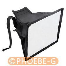 Portable 15x17 cm Flash Diffuser Mini Flash Softbox for Canon Nikon Pentax Sony