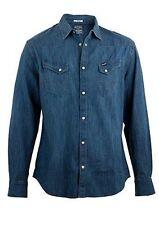 Camisas y polos de hombre de manga larga Wrangler 100% algodón