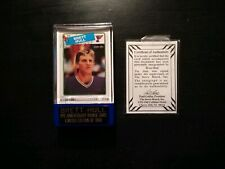 Brett Hull Anniversary Series Rookie Card Limited Edition Signed Autographed