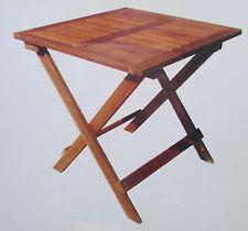 TABLE BASSE EN BOIS PLIANTE PIABLE DECORATION CAMPING JARDIN EXTÉRIEUR SALON 518