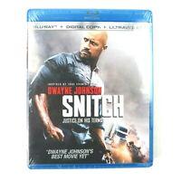 Snitch (Bluray, 2013) Dwayne Johnson Sealed NEW