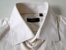 Hugo Boss Slim Fit Herren Hemd Langarm Weiß Unifarben KW39